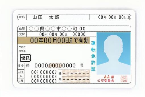 운전 면허증