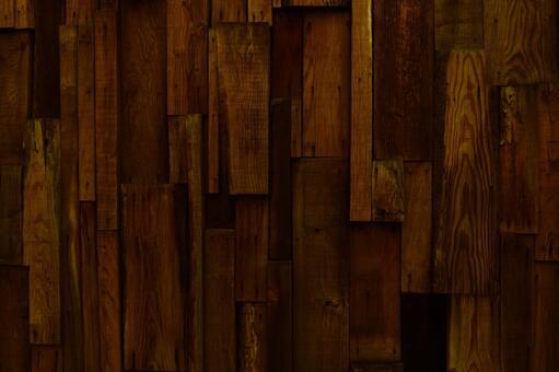 Wood grain texture background - dark