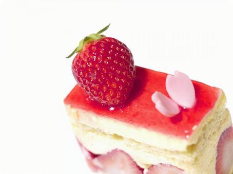 Strawberry cake. 01