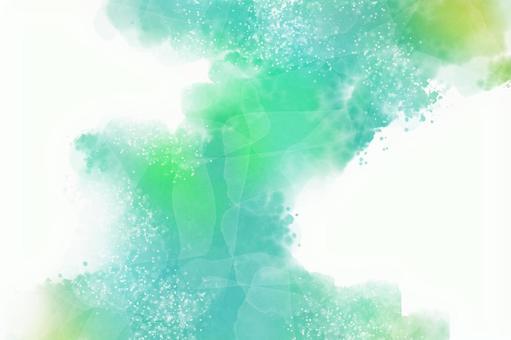 初夏閃閃發光的水彩背景紋理非常適合背景