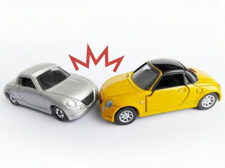 Traffic accident (frontal conflict) 1