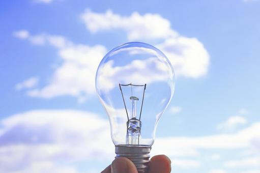 Hirameki Light Bulb Image Material