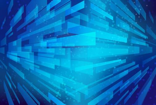 Blue linear geometric pattern abstract background material texture
