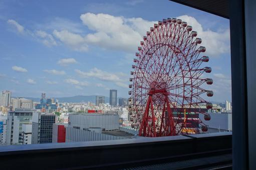 Ferris wheel of Osaka