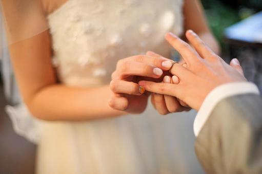 Wedding ring exchange 2