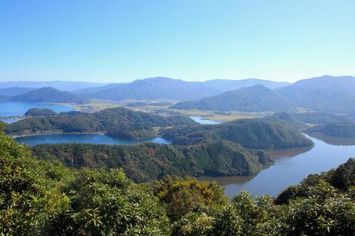 삼면 五 湖의 풍경