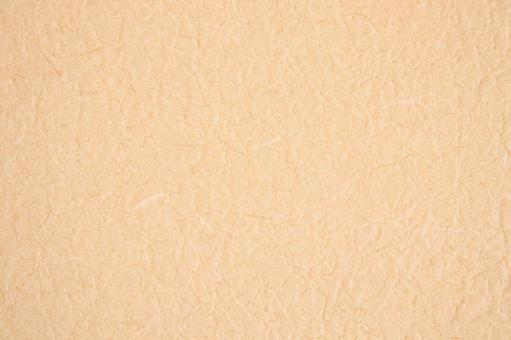 Wrinkled skin-colored Japanese paper-like background material