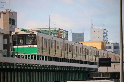 오사카의 지하철