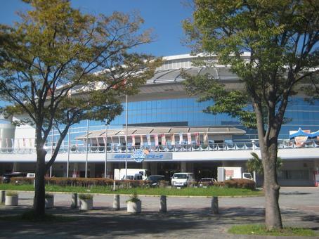 Prefectural mutual aid super arena