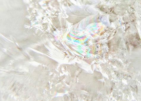 Crystal with natural rainbow 1