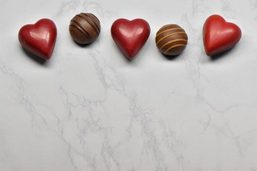 Chocolate background material