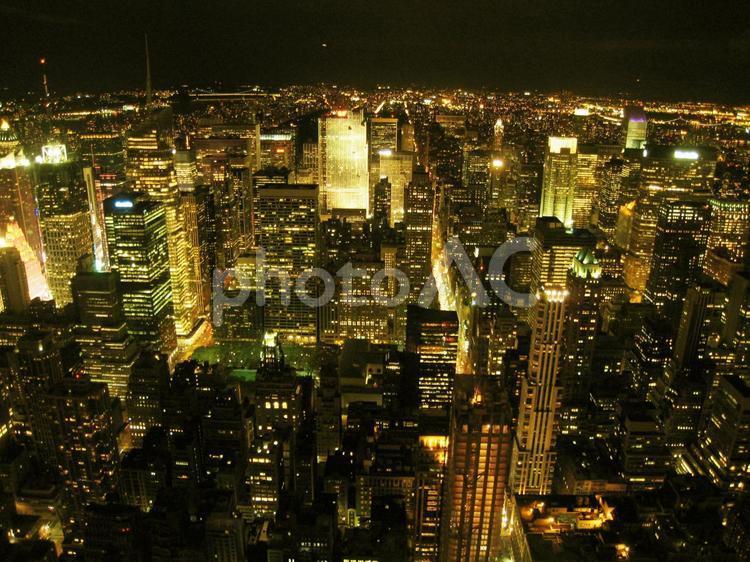ニューヨーク マンハッタンの街並みと夜景 No 写真素材なら 写真ac 無料 フリー ダウンロードok