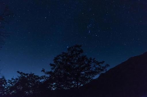 The night sky of Irohazaka Kurokamidaira Observatory