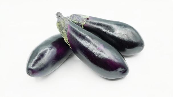 Eggplant 01 (white background)