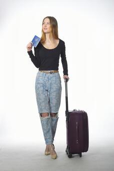 가방을 가진 여자 3