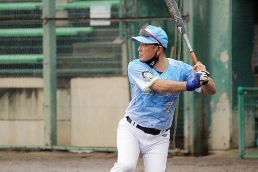 Male person baseball uniform