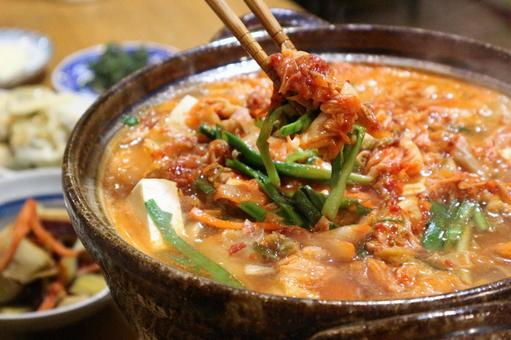 Chige鍋和筷子