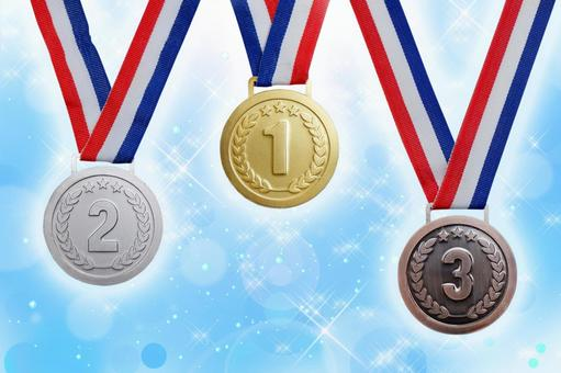 Top 3 medals ranking material