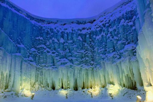 시코 얼음 우의 축제