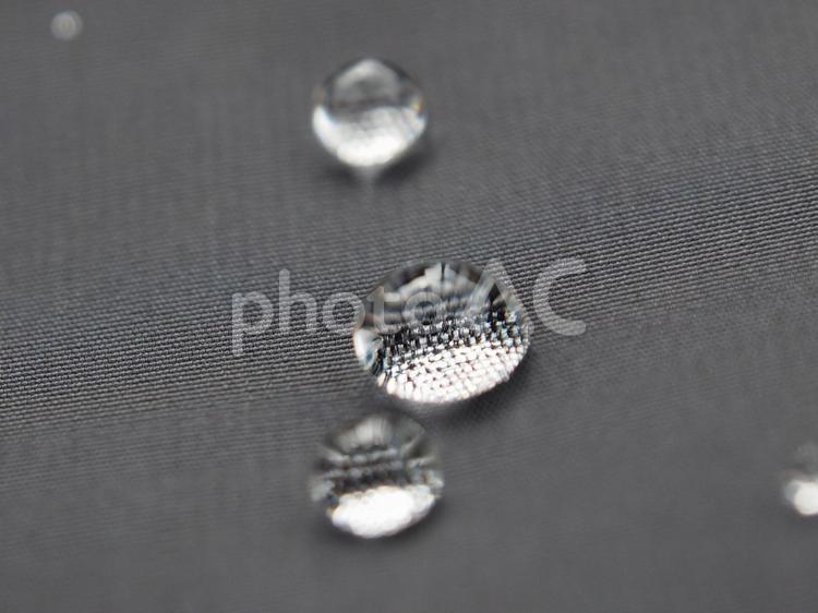 水滴(撥水生地)の写真