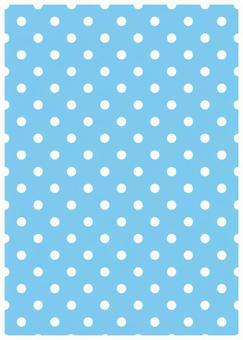 Light blue background and white dot