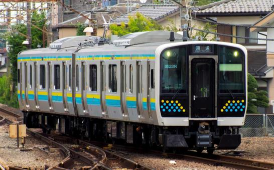 2020.9.15 New car of each Boso line, E131 series R01 formation Chuo line (Chuo main line) Performance check test run
