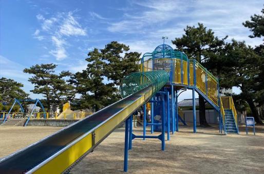 Roller slide 2 in Hamadera Park