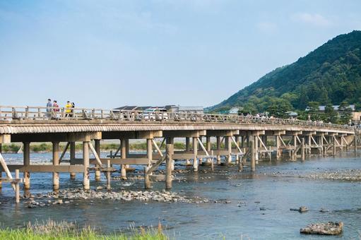 Kyoto is Togetsu Bridge of Arashiyama