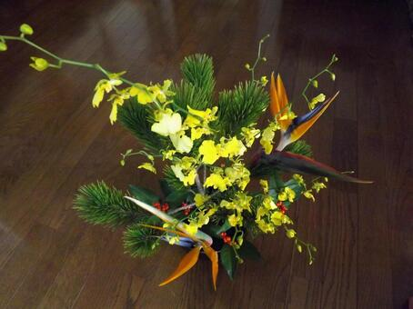 New Year's Ikebana
