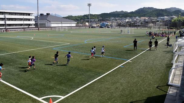 Juvenile soccer, district conference, closet war 10