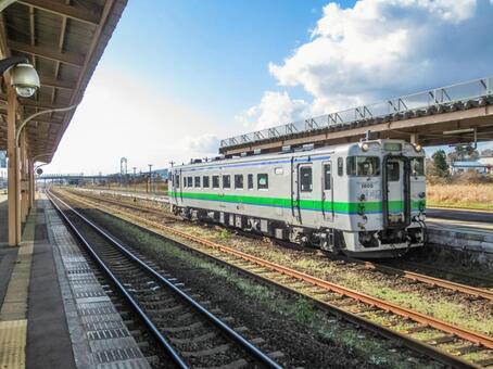 Hakodate Main Line Oshamambe Station