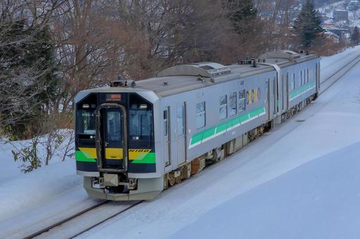 H100 형태 오타루시 오타모이의 언덕을 올라
