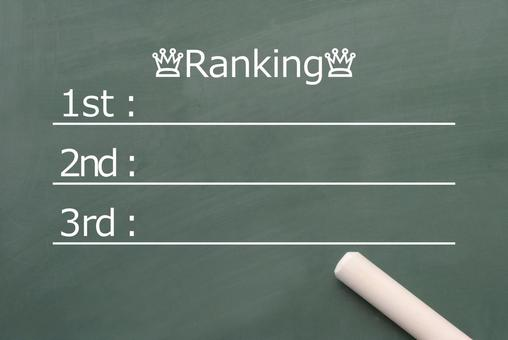 Ranking entry table