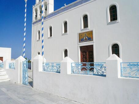 Church of Oia on Santorini