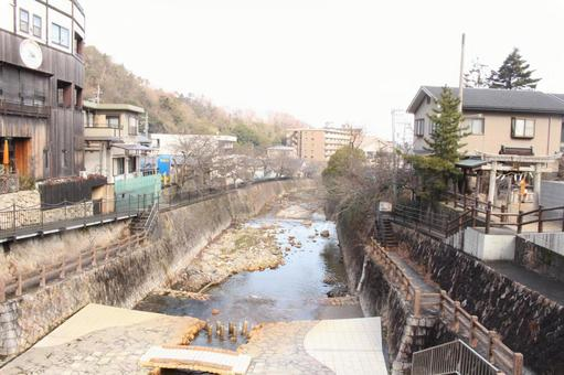 Arima Onsen Arima River