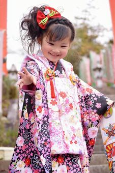 Shichigosan 3 years old