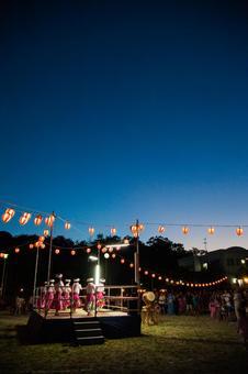 Summer festival oar