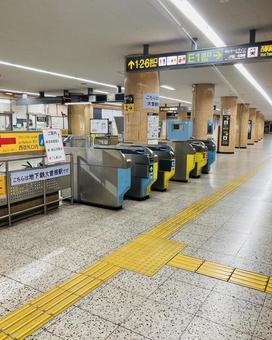 Subway station ticket gate (6)