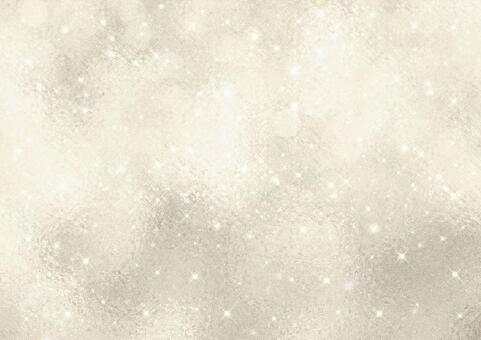 Glitter and dot cube glass glossy background material (beige)