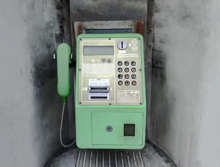 舊公用電話