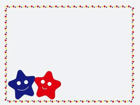 情人的星星框架