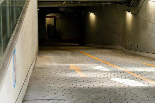 지하 주차장