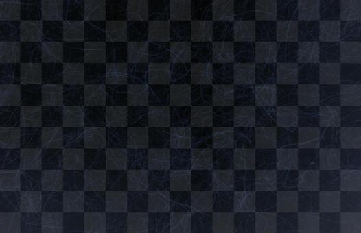 Checkered black Japanese paper texture background material