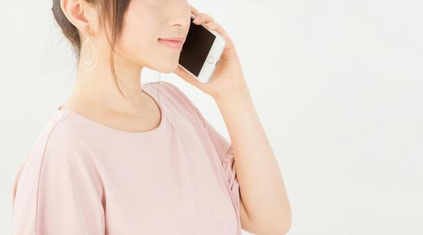 電話する女性 - No: 1015760|写真素材なら「写真AC」無料(フリー)ダウンロードOK