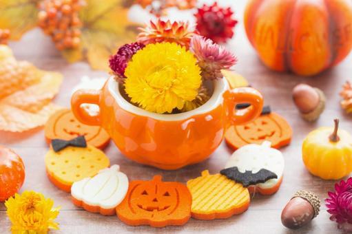 Halloween style arrangement