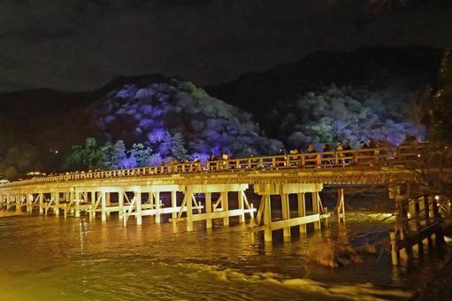 Kyoto Arashiyama lantern road 3