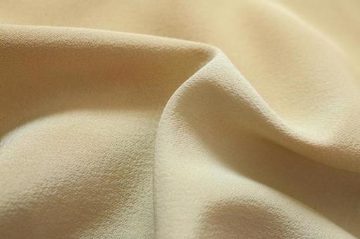 面料布料真絲黃色奶油