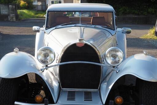 A cute classic car