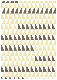 Scandinavian design diagonal pattern white