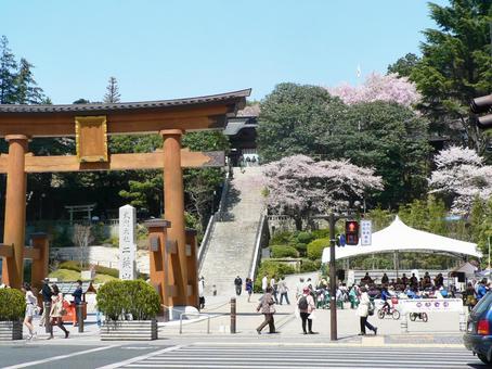 Futarafusami神社
